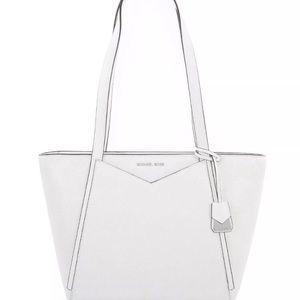 Michael Kors white purse NWT/coin purse